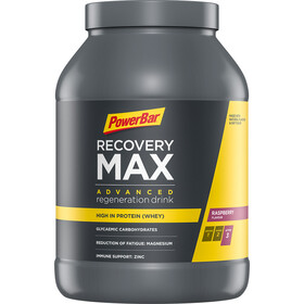PowerBar Recovery Max Tub 1144g Raspberry
